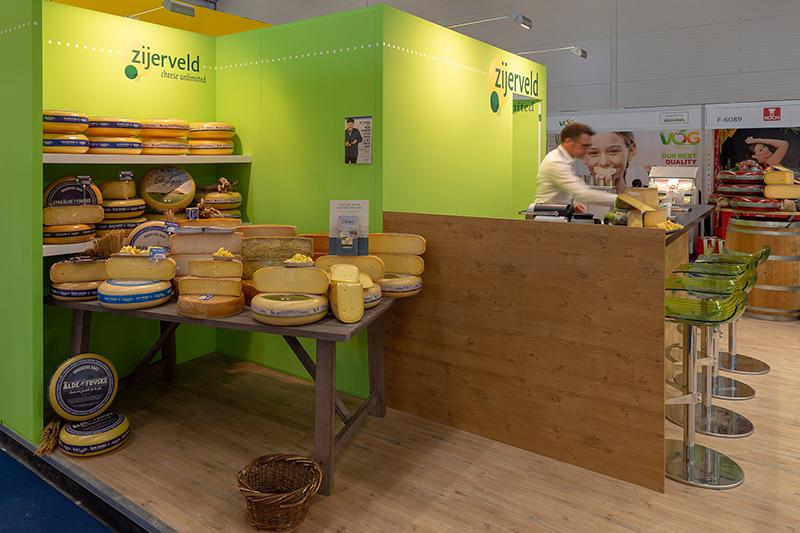 kaas en groen