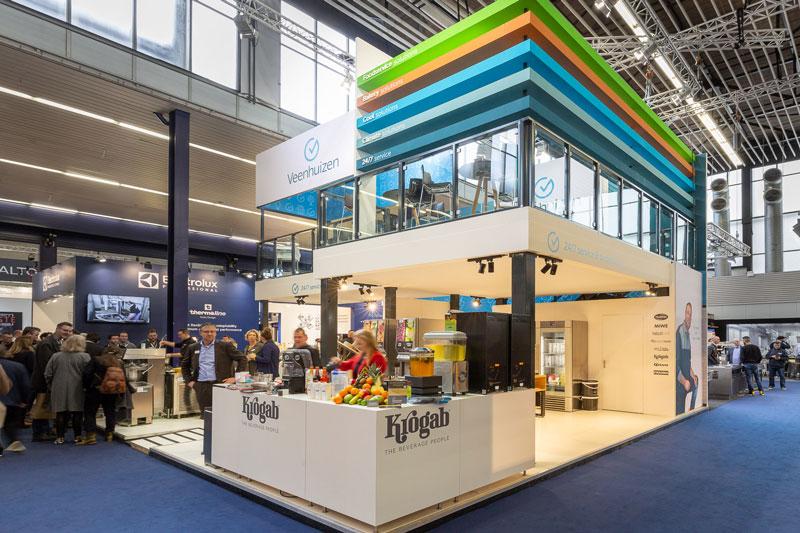 Etage stand op Horecava voor Veenhuizen - Standbouw.nl